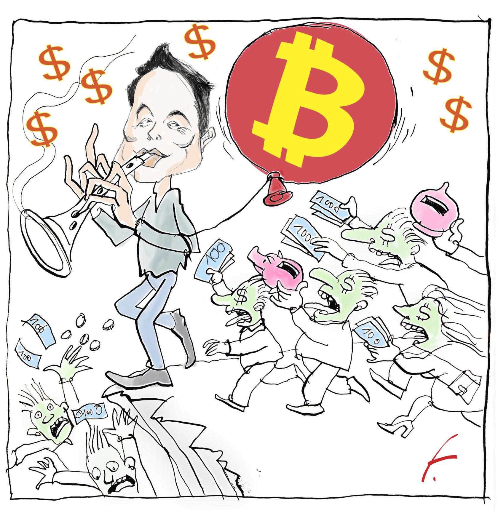 Mr. Tesla compra i Bitcoin