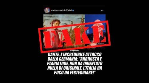Dante e l'attacco che non c'è stato