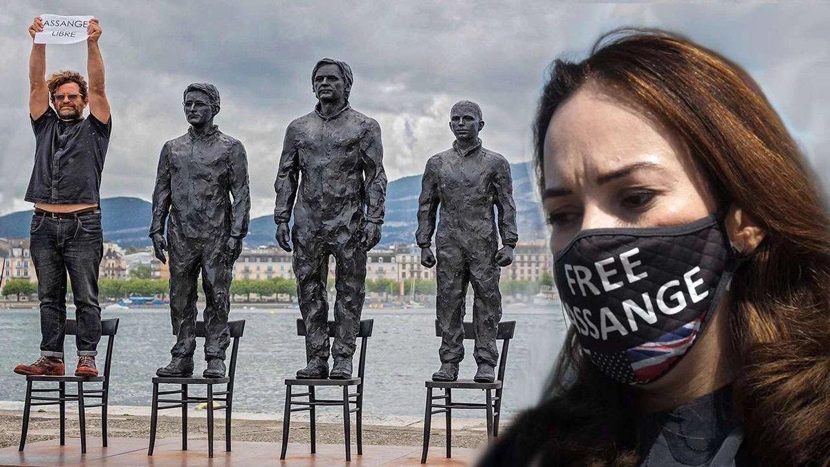 Le Temps – Assange, liberatelo e fatelo arrivare in svizzera