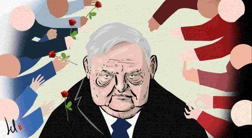 George Soros 'nemico del popolo'