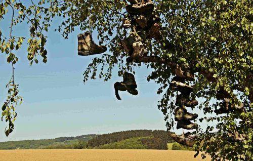 Una storia di scarpe vecchie