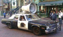 C'è un problema con la polizia?